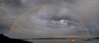 Rainbow at Gleasons Cove